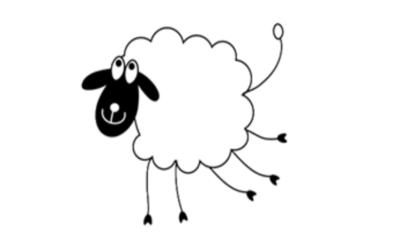 Un mouton à cinq pattes bien heureux !