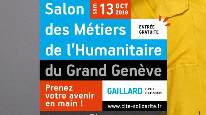 Salon des métiers de l'humanitaire du grand Genève à Annemasse